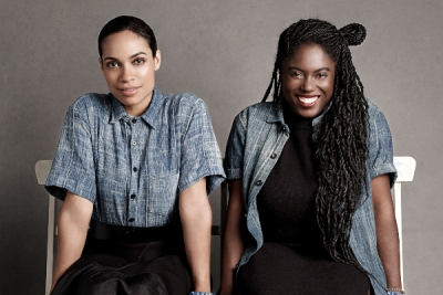 Studio 189's founders Rosario Dawson (left) and Abrima Erwiah